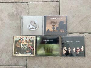 Take That _ Lotto 5 X CD ALBUM & SINGLES NUOVI SIGILLATI SEALED RARE