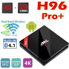H96 Pro+  Android 7.1 3GB/32GB TV Box Amlogic S912 Octa Core UHD 4K Media Player