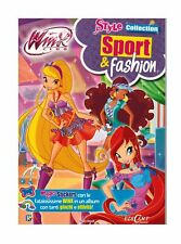 Winx Club Style Collection Sport Fashion Stickers Rainbow 2014