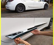 Tesla Model 3 - Stainless Steel Body Trim Door Anti-Collision Strip