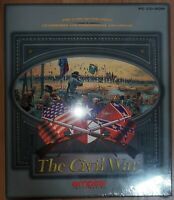 RARE The Civil War Pc CD-ROM Game By Empire Interactive 1995 WINDOWS Vintage