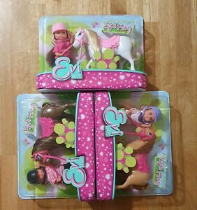 Simba EVI LOVE - EVI CON PONY Children Kids Doll Set Toy - 3 Styles Available