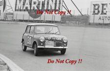 Paddy Hopkirk & Henry Liddon Mini Cooper Tulip Rally 1963 Photograph 1