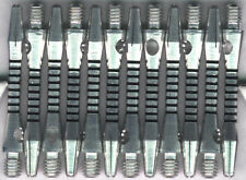 1.5in. 2ba Silver/Black Aluminum Dart Shafts: 3 per set