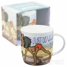 Nouveau Disney Jungle Book Just Do What I do tasse café Mowgli rétro Officiel