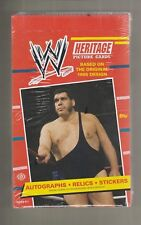 2012 Topps WW Heritage Wrestling Box Sealed