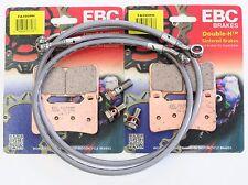 EBC HH Front Brake Pads Goodridge Lines 05 06 Honda CBR600RR CBR 600RR FA390HH