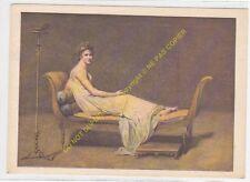 CP TABLEAU LOUIS DAVID Portrait de Madame RECAMIER
