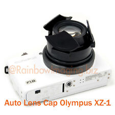 Black Protective Auto Self-Retaining Lens Cap for Olympus XZ-1 XZ-2