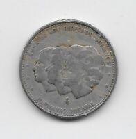 World Coins - Dominican Republic 25 Centavos 1984 Commemorative Coin KM# 61