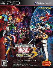 Ultimate Marvel vs Capcom 3 (Japanese Version) *BRAND NEW* PS3