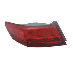 New Aftermarket Driver Side Outer Tail Light Assembly 33550TX6A01 CAPA