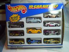 hot wheels 1999 10 car gift set futuring speed /power /performance vehicles