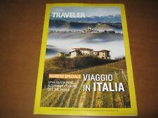 TRAVELER-National Geographic-Numero Speciale-Viaggio in Italia-NUOVO