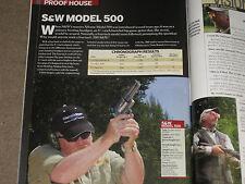 GUNS & AMMO TEST S&W 500 REVOLVER + 7.62X39 LOADS