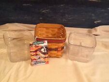 Longaberger 98 Father's Day Finder's Keeper Basket Handmade In Usa Dresden Ohio