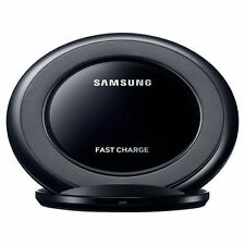 Black Qi OEM Samsung Fast Wireless Charger Stand Pad Galaxy S8 S7 S6 Edge NOTE 5