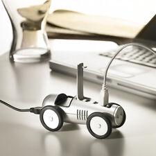 USB HUB Rennwagen Auto Design Silberpfeil 4 PORT USB 2.0 für Notebook & PC