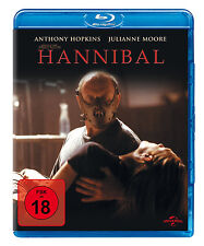 HANNIBAL Uncut - Ridley Scott ANTHONY HOPKINS Julianne Moore BLU-RAY Neu