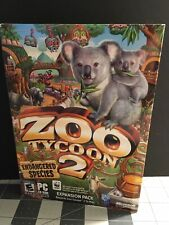 Zoo Tycoon 2 Endangered Species Expansion Microsoft Game PC Complete 2005