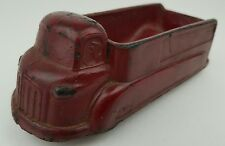 Vintage Arcor Safe Play Toys Red Hard Rubber Hauling Truck Toy Missing Wheel