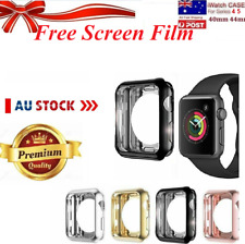 Apple Watch 360* Series 4 5 6 iWatch 40 44mm Perfect Fit Screen Protector Case