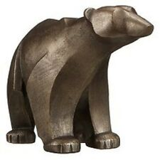 Frith Scuplture Polar Bear Standing by Adrian Tinsley in cold cast bronze