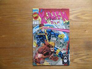 1991 MARVEL X-MEN # 1 WOLVERINE, CYCLOPS & ICEMAN SIGNED JIM LEE ART WITH POA
