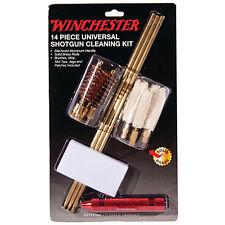 Winchester Shotgun Cleaning Kit - 14 Pc Kit - Brass Rod - Brushes - Mops - Jags