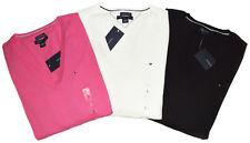 Tommy Hilfiger Damen Pullover Pulli Strickpullover V-Neck classic Size XS-XXL