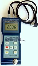 Digital Ultrasonic Thickness Gauge Meter Iron Steel Iron Aluminum Zinc Glass PVC