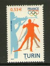 TIMBRE 3876 NEUF XX LUXE - JEUX OLYMPIQUE D'HIVER A TURIN -  ITALIE