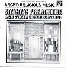 Negro Religious Music SEALED LP Singing Preachers
