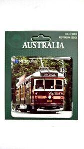 Australia Melbourne Souvenir Magnet. City Circle Tram Design New Great Gift
