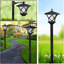Solar Power Light Lamp Post Lantern Yard Stake Outdoor Garden Lighting 5