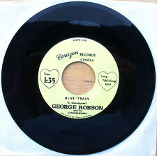 Scarce George Robson Blue-Train & Brush Arbor Meeting - Corazon Records 1002 NM