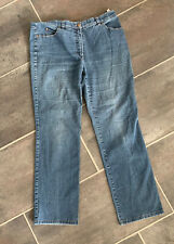 Gerry Weber Jeans Hose Größe 46 Stretch Damen Jeanshose blau