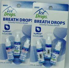 2 Pkg 6 Bottles Oral Labs Sugar Free Ice Drops ICY MINT NIP