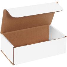 9 X 5 X 3 White Corrugated Mailingshipping Boxes Ect 32b 50case