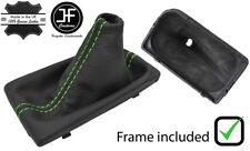 Engranaje De Cuero verde de la puntada Auto Polaina + Marco Plástico Para Hyundai Tucson 16-18