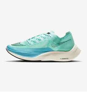 Nike ZoomX Vaporfly Next% 2 Men's Shoes Grn/Blk/Blue Running Size 11.5