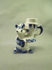 Armadillo w/ Sleeping Cap Hat Candle Stick Holder Handmade in Russia