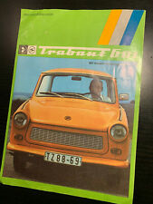 Altes Prospekt Trabant 601 1976 / Trabbi DDR Katalog IFA