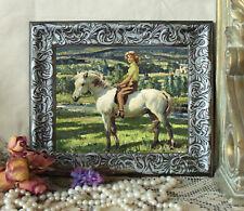 Munnings Girl on Her Pony Horse Art Print Vintage Style Framed 11X13 py