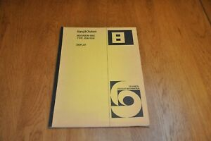 Beovision 6002 type 3530 3532 Colour Television Display Unit Service Manual