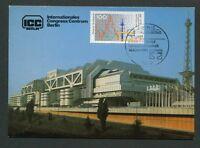 BERLIN MK 1991 FUNKAUSSTELLUNG ICC RADIO MAXIMUMKARTE MAXIMUM CARD MC CM d8197