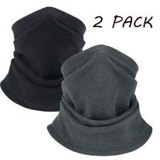 2 PACK Bandana Head Face Mask Neck Gaiter Warmer Headwear Beanie Tube Scarf USA