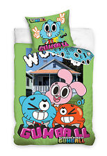 NEW AMAZING WORLD of GUMBALL Darwin Anais Single Bed Duvet Cover Set 100% COTTON