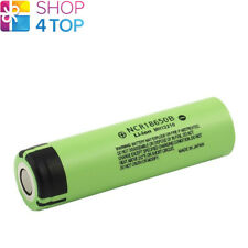 PANASONIC NCR-18650B RECHARGEABLE Li-ion BATTERY 3.6V 3400 mAh NEW