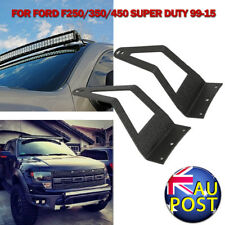 "2XWindshield Light Bar Brackets Mounting For 50"" LED Light Bar Ford 250/350/450"
